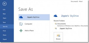 Zippies SkyDrive